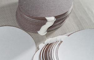 China Self Adhesive Aluminum Oxide PSA Sanding Discs 5 Inch For Auto Body supplier