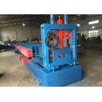 Automatically Z U Channel Purlin Roll Forming Machine Chain or gear box Driven system