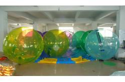 Sph re humaine gonflable transparente bleue g ante boules de marche de l 39 - Sphere gonflable vente ...