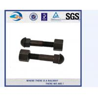 Grade 10.9 Track Bolts And Nuts / Inserted Bolt With Dacromet / Sherardizing