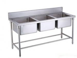 ... Triple Sink : Single Double Triple Bowl Commercial Stainless Steel