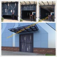Sectional Lift Door Vertical Panel Lifting Industrial Sectional Door For Garage Use