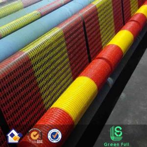 China Alert Net/orange plastic safety fence/orange and yellow warning net/Warning barrier mesh supplier
