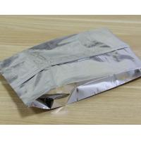 tea aluminum foil packaging bags square bottom plastic bags for rice packaging