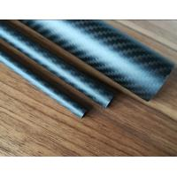 different diameter matte 3K twill weave carbon fiber tube  can be OEM