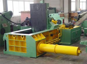 Manual Operation Metal Scrap Baler Machine 15kW Y81F - 160C Type
