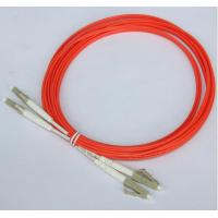 Orange 3M Optical Fiber Patch Cord LC LC Duplex Fiber Jumper Cables