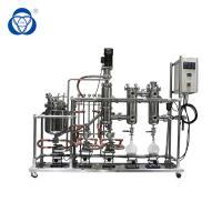 Stainless steel Fractional Wiped film molecular distillation