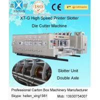 Fully Automatic Corrugated Carton Box Rotary Die Cutting Machine 30kw