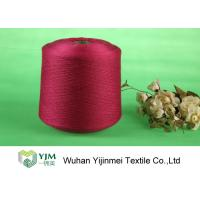 High Tenacity Ring Spun Dyed Polyester Yarn , 100% Virgin Polyester Color Yarn Dyeing