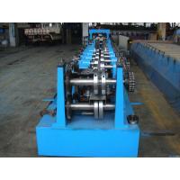 C Z Purlin Interchangeable Steel Rolling Machine / Metal Roll Forming Machine In Warehouse Building