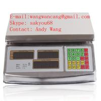 2014 Fashional New HOT sale High quality and competitive price stainless steel electronic scale 30kg 40kg