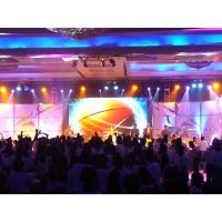 Alluminum HD P7.62mm Indoor LED Screen for Stage Back Ground