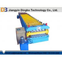 PPGI Steel Roof Panel Roll Forming Machine / Corrugated Sheet Roll Forming Machine
