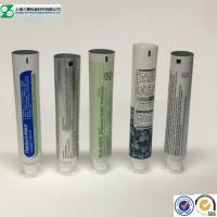 Laminated Cosmetic Tube Small Airless Empty Toothpaste Containers Round / Oval