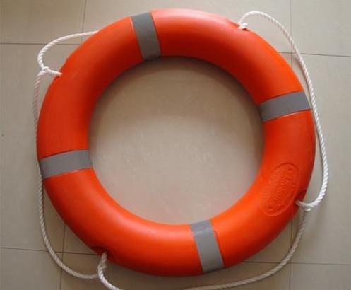 China Marine Life Saving Equipment For Rescue , Life Buoy Rescue Ring / Marine Life Buoy supplier