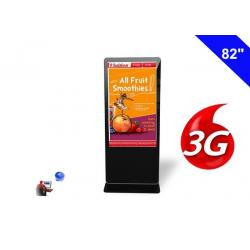 China Network Kiosk Digital Signage 3g Advertising LCD Display Cloud Managing System on sale