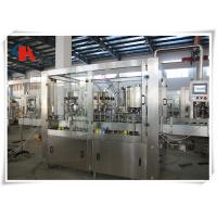 PET Bottle Carbonated Beverage Filling Machine Rinsing Filling Capping 3 In 1 Monoblock