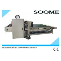 Vacuum Suction Paper Feeder Corrugated Slitter Machine Electric Driven Type