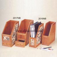 China Document/Book/Magazine Holder with Bamboo Material for Office