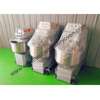 Durable Big Bakery Dough Mixer Double Speeds Driving With Screen Touch System