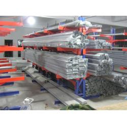 China Industrial Storage Cantilever Racking System steel Double side pipe rack on sale