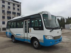 SKD / CKD Diesel Mini Bus 19 Seater Minibus Public Service 3300mm Wheel Base