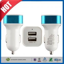 China 15W 3.1A Dual Port High Speed iPhone 6 Plus Car Charger For USA / Canada on sale