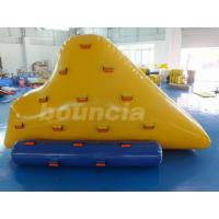 0.9MM PVC Tarpaulin Inflatable Iceberg IC17 with 2 Sides Climbing for swimming pool CE EN15649