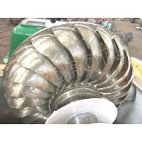 High Specific Speed Turgo Hydro Turbine / Turgo Water Turbine with Stainless steel Runner Diameter Below 1.5m