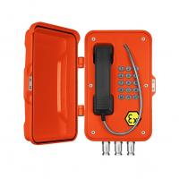 Corrosion Resistant ATEX Outdoor Analog Phone / Wall Mounting Ex Proof Telephone