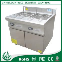 China Commercial For Easy Clean Outdoor Electric Deep Fryer with 8kw on sale