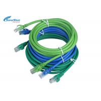 Blue UTP CAT 5e Network Patch Cord High Precision Optional Cable Color 0.3m-30m