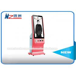 China Interactive Touch Screen Digital Advertising Kiosk , Photo Booth Lcd Advertising Screen on sale
