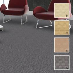 China Fireproof Wool Blended Cut And Loop Pile Carpet For Cinema on sale