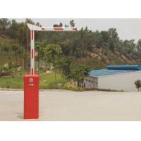 Powder Coating Steel Automatic Boom Gates , Remote Control Driveway Barriers