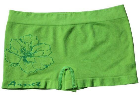 lady seamless jacquard design boxer underwear