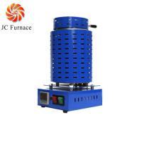 JC Electric Small Mini Crucible Melting Furnace for Metal Gold Brass