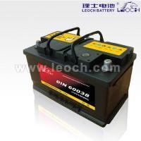 LEOCH Lead Acid Car Battery With 100AH Capacity