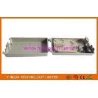 12 Cores FTTH Mini Fiber Optic Termination Box For Cable Fusion Splicing