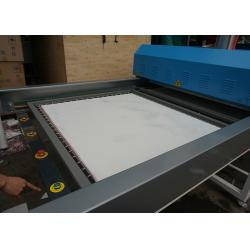 China Double Working Table One In Side Large Format Heat Press Printing Machine on sale