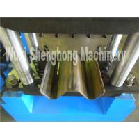 W beam galvanized guardrail roll forming machine with punching process