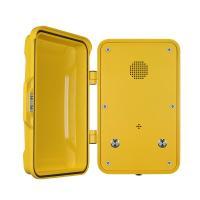 Public IP68 Industrial Weatherproof Telephone With Cast Aluminum Enclosure