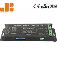 Screwless Terminals PWM Signal Converter With 4 Channels Dip Switch DC15V - 30V