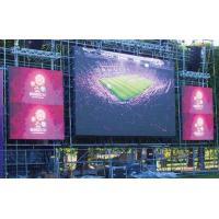 Advertising Brightness 6000k led video display panels 1r1g1b 10mm Pixel pitch