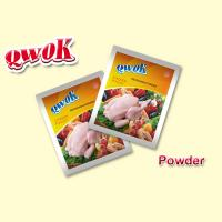 Qwok mix seasoning 10g halal chicken bouillon powder stock powder