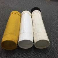 Non woven needle punched PPS dust filter bag used in industrial dust cleaning