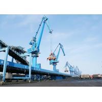 Four Link Type Seaport Port Gantry Crane , Container Handling Heavy Motorized Gantry Crane