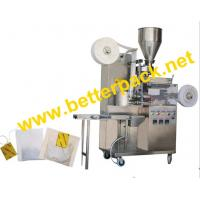 tea-bags packaging machinery with thread and tag