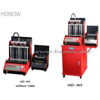 Diagnostic Fuel Injector Cleaner Machine , Injectors Testing Equipment For Gasoline Cars